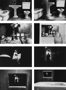Duane Michals Things are Queer Les choses sont bizarres 1973 sequence photo