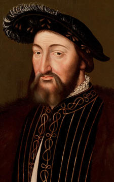 French School Portrait of Francis I of France c 1530